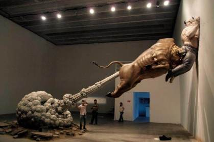 Bull-Fart-Sculpture-China